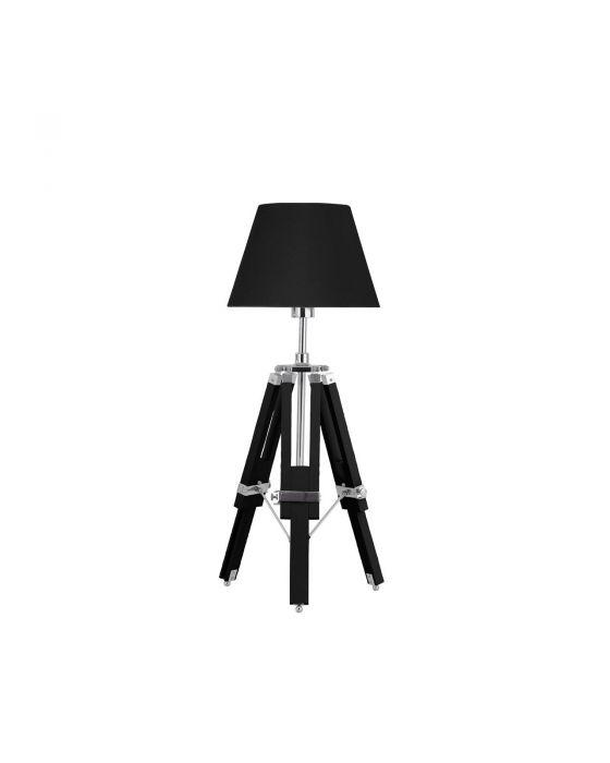 Tripod Table Lamp - Black