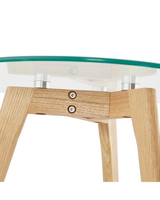 Malena Set Of 2 Solid Oak Tables