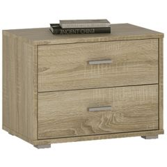 4 You 2 Drawer low chest / Bedside in Sonama Oak