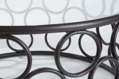 Arouna Metal Bubble Design Coffee Table