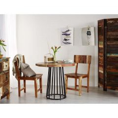 Beach House Coastal Round Dining Table