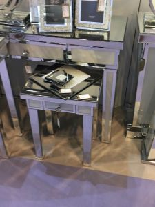Bella Mirrored Console Table