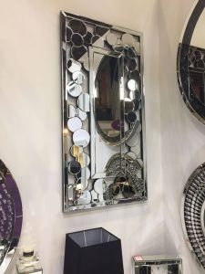 Bethan Bubble Wall Mirror