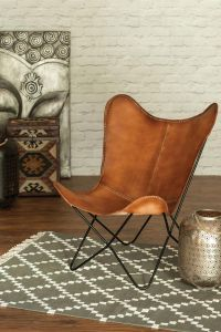 Buffalo Leather Chair