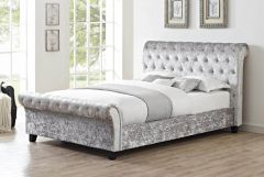 Casa Crushed Velvet Bed Frame