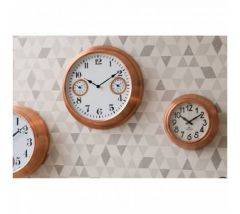 Claus Copper Finished Wall Clock