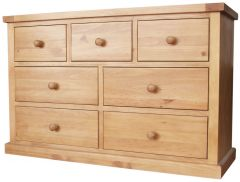 Cottage Pine 3 over 4 Multi Chest