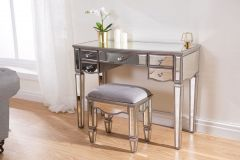 Elayna Mirrored Dressing Table