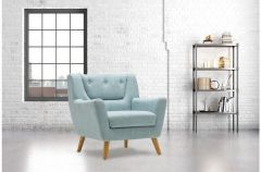 Fabric Scandinavian Style Chair