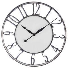 Hampshire Aluminium Wall Clock