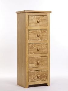 Hamilton 5 Drawer Narrow Chest