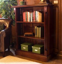 Hand Crafted Low Open Bookcase