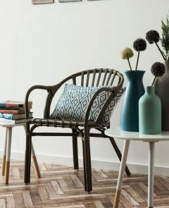 Hannah Rattan Low Armchairs