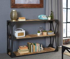 Industrial Solid Wood Large Sideboard