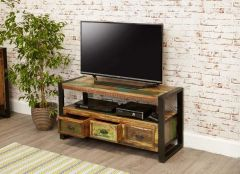 Industrial Reclaimed TV Cabinet