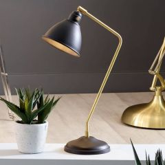 Bello Table Lamps with Gold Effect