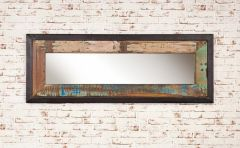 Industrial Reclaimed Wall Mirror