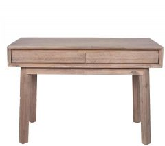 Kalm Sand Wash 2 Drawer Console Table