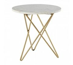 Kanpur Brass Side Table