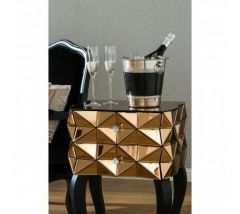 Kent Mirrored Side Table
