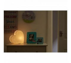 Kidzone Heart Table Lamp