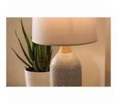 Mason Grey Ceramic Table Lamp