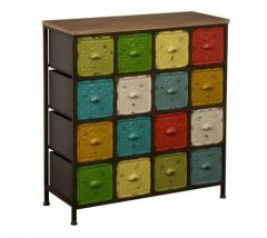 Metal 16 Colour Artisan Cabinet