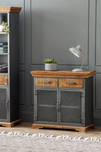 Metro Industrial 2 Drawer Sideboard