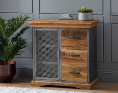 Metro Industrial 3 Drawer Sideboard
