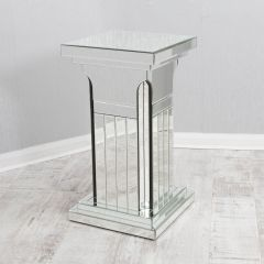 Milo Mirrored Column Stand