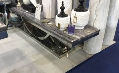 Neptune Grey Marble TV Unit