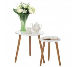 Nostra Nest Of 2 Round Tables