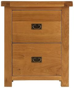 Oakhouse Oak Filing Cabinet