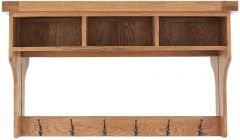 Oakhouse Oak Hall Shelf Unit