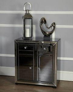 Oliver Smoked Glass Sideboard