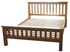 Pine 4'6 Bed - High End
