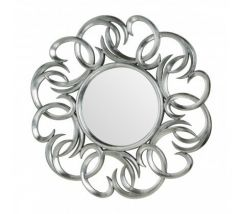 Principal Entwined Swirl Effect Wall Mirror