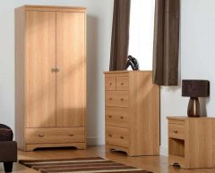 Regent 2 Door 3+2 Drawer Bedroom Set