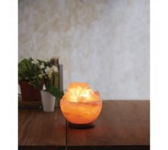 Salt Lamp with Bowl Design