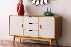 Scandinavian Inspired Oak Veneer Sideboard