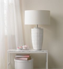 Thomas Woven Table Lamp