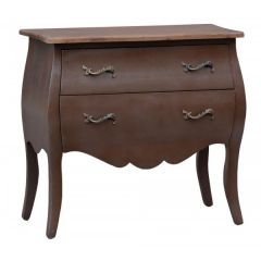 Transylvania Choco Chest Of Drawers Brushed