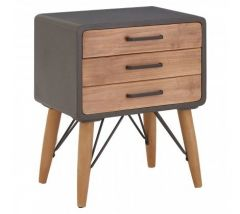 Trinity 3 Drawer Side Chest
