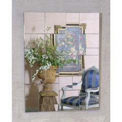 Venetian Geometric Multi Panel Wall Mirror
