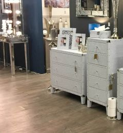 White Bianco Chest of Drawers