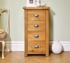 Woburn Oak Narrow Tallboy