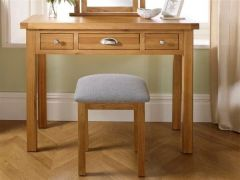 Woburn Oak Dresser Stool