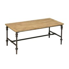 Industrial Fir Wood Coffee Table