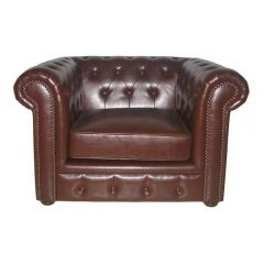 Chesterfield Style Leather Chairs