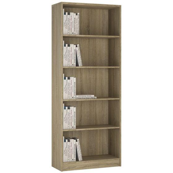 4 You Tall Wide Bookcase In Sonama Oak